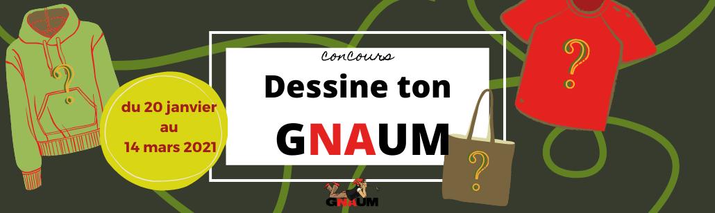 """Concours """"Dessine ton GNAUM"""""""